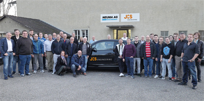 The JKS Engineering AG and NEUMA AG team